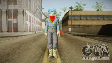 DBX2 - Trunks SSJB for GTA San Andreas second screenshot