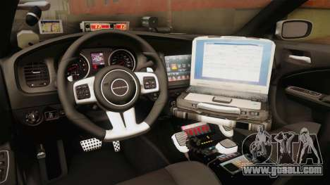 Dodge Charger 2013 SA Highway Patrol v1 for GTA San Andreas inner view