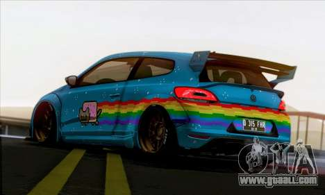 Volkswagen Scirocco R Ngasal Kit for GTA San Andreas right view