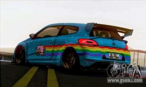 Volkswagen Scirocco R Ngasal Kit for GTA San Andreas
