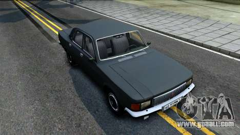 GAZ 3102 USSR for GTA San Andreas right view