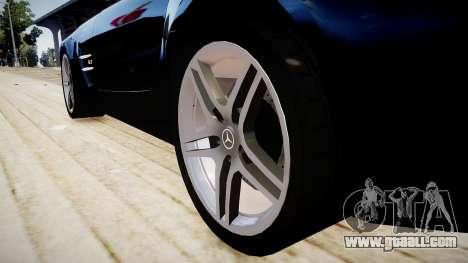 Mercedes-Benz SLS63 AMG for GTA 4 back view