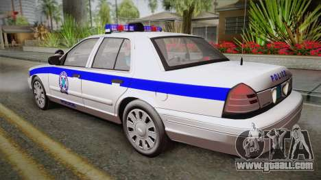 Ford Crown Victoria 2006 for GTA San Andreas left view
