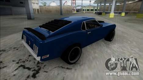 1970 Ford Mustang Boss 429 for GTA San Andreas left view