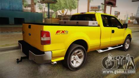 Ford F-150 2005 King Cab for GTA San Andreas left view