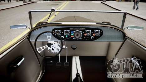 Hot-Rod concept beta for GTA 4 inner view