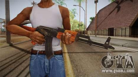 CoD 4: MW - AK-47 Remastered for GTA San Andreas third screenshot