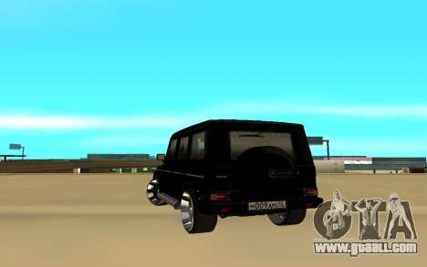 Mercedes Benz G55 for GTA San Andreas back left view