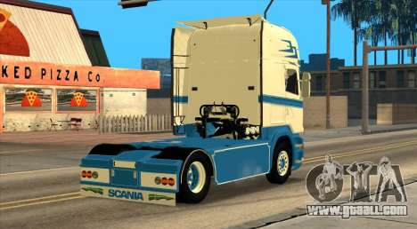 Scania R730 for GTA San Andreas left view