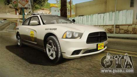 Dodge Charger 2012 SA State Patrol for GTA San Andreas right view