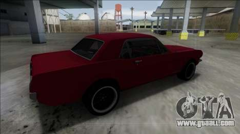 1965 Ford Mustang for GTA San Andreas left view