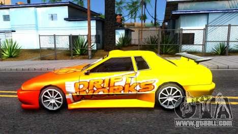 Elegy Paintjob DriftWorks for GTA San Andreas left view