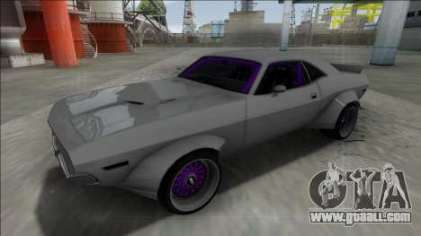 1970 Dodge Challenger Rocket Bunny for GTA San Andreas