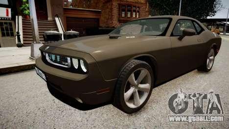 Dodge Challenger SRT8 2010 for GTA 4
