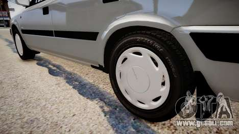 Daewoo Espero GLX 1.5 16V DOHC 1996 for GTA 4 back view