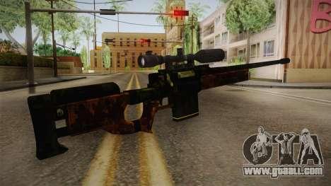 Sniper Estilo Ejercito Mexicano for GTA San Andreas second screenshot