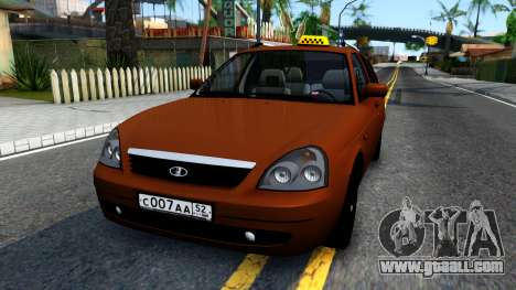 VAZ 2171 Taxi for GTA San Andreas