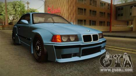 BMW M3 E36 Pandem Kit for GTA San Andreas right view