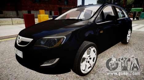 Opel Astra Sports Tourer 2011 for GTA 4