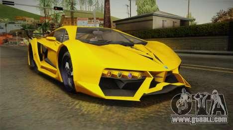 GTA 5 Pegassi Lampo for GTA San Andreas right view