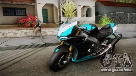 Aprilia RSV-4 Blue Edition for GTA San Andreas