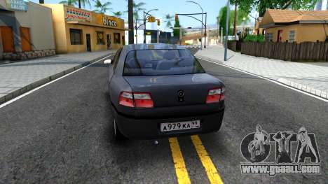 Opel Omega 1998 for GTA San Andreas back left view