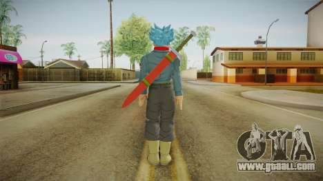 DBX2 - Trunks SSJB for GTA San Andreas third screenshot
