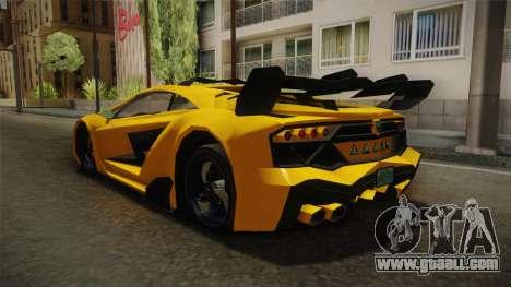 GTA 5 Pegassi Lampo for GTA San Andreas left view