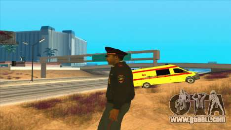 Russian police for GTA San Andreas third screenshot