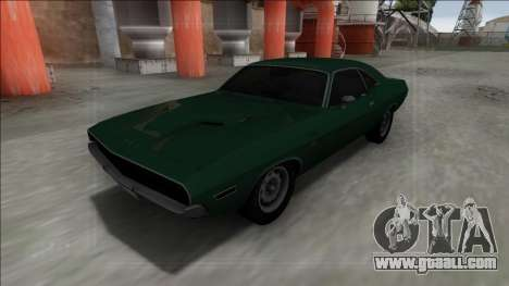 1970 Dodge Challenger 426 Hemi for GTA San Andreas right view