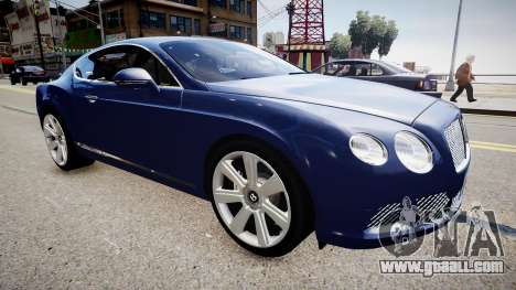 Bentley Continental GT 2011 [EPM] v1.0 for GTA 4 right view
