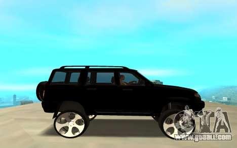 UAZ Patriot 2014 for GTA San Andreas left view