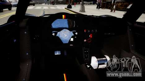 Gumpert Apollo Enraged Unleashed 2012 for GTA 4 inner view