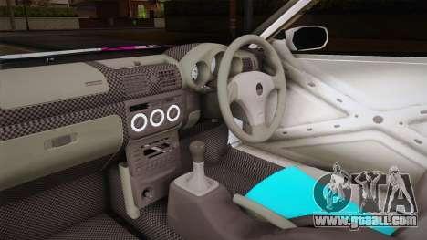 Nissan Silvia S15 Kurousagi Itasha for GTA San Andreas inner view