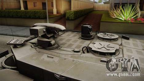 Leopard 2 MBT Revolution for GTA San Andreas back left view