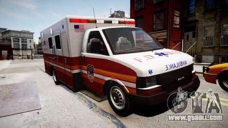 F.D.N.Y. Ambulance for GTA 4