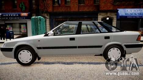 Daewoo Espero GLX 1.5 16V DOHC 1996 for GTA 4 left view