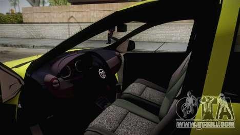 Dacia Sandero 2016 TOP SPEED for GTA San Andreas right view