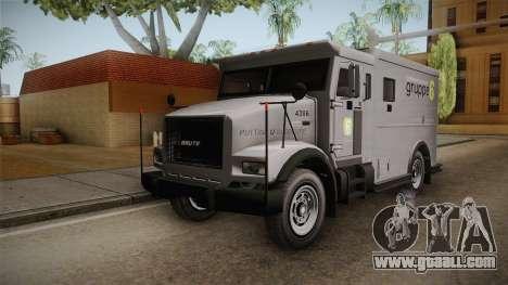 GTA 5 Brute Stockade for GTA San Andreas