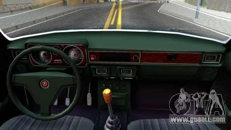 GAZ 3102 USSR for GTA San Andreas inner view