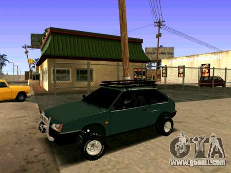 VAZ-2108 4x4 for GTA San Andreas left view