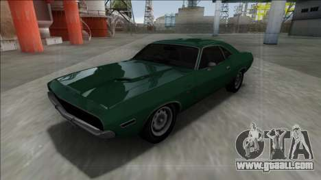 1970 Dodge Challenger 426 Hemi for GTA San Andreas