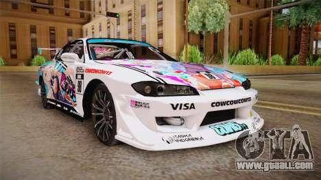 Nissan Silvia S15 Kurousagi Itasha for GTA San Andreas