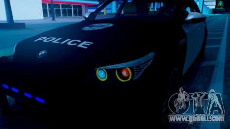 New police lights (For Modders) for GTA San Andreas