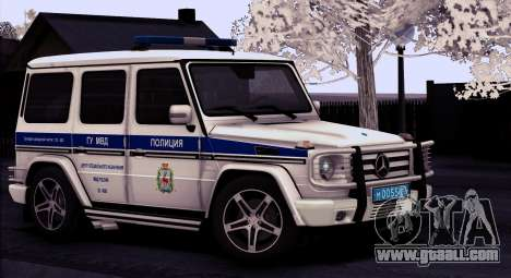 Mercedes-Benz G55 AMG ГУ МВД for GTA San Andreas