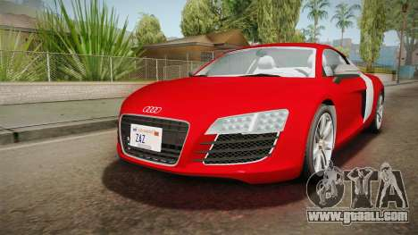 Audi Le Mans Quattro 2005 v1.0.0 YCH Dirt for GTA San Andreas