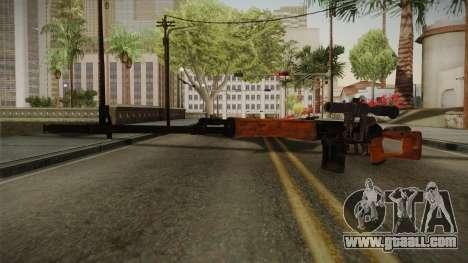 CoD 4: MW - Dragunov Remastered for GTA San Andreas