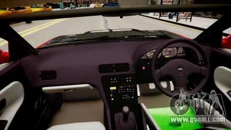 Nissan Silvia S13 for GTA 4 inner view
