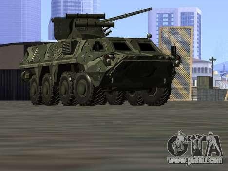 BTR 4 for GTA San Andreas inner view