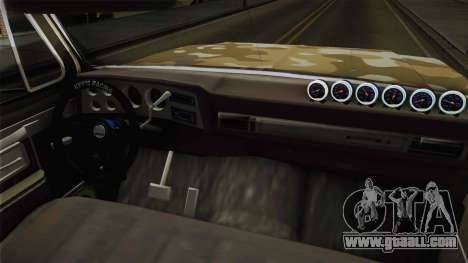 Chevrolet Silverado 1978 4x4 for GTA San Andreas back view